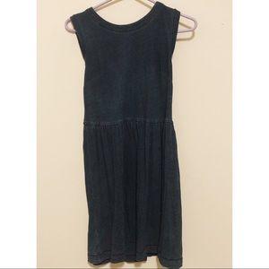 Navy cotton LOFT summer dress